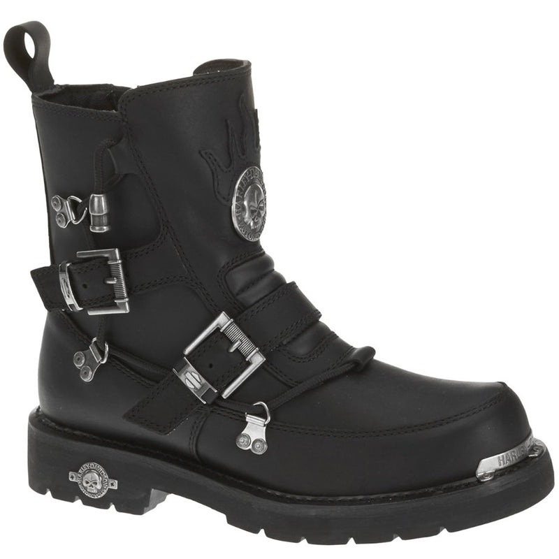 Harley Davidson Distortion Leather Mens Boots