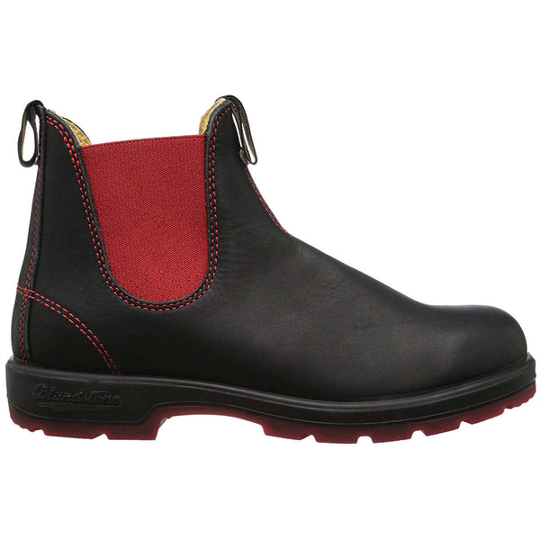 Blundstone 1316 Leather Unisex Boots#color_black red