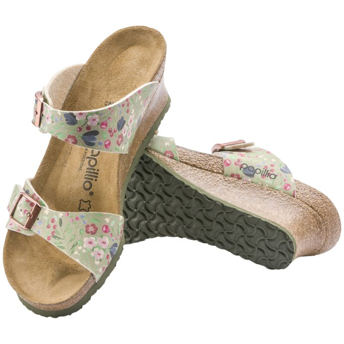 Papillio Dorothy Meadow Flowers Birko-Flor Womens Sandals