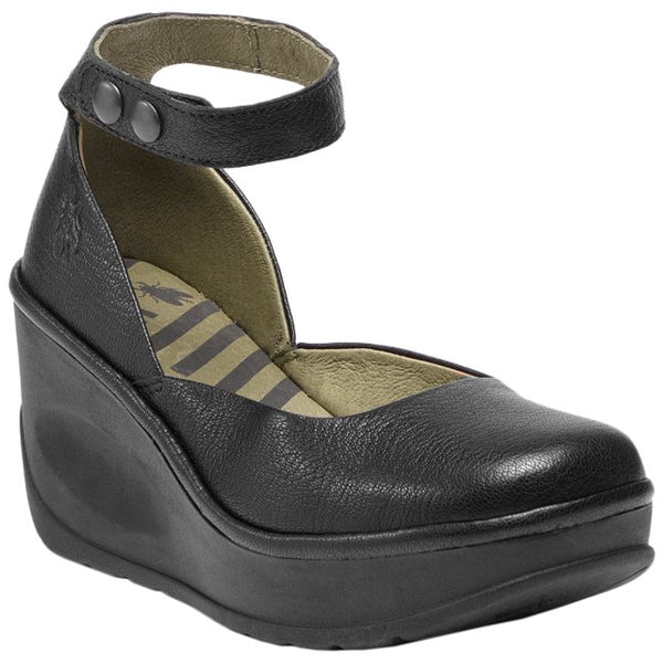 Fly London JODY956FLY Mousse Leather Womens Shoes#color_black