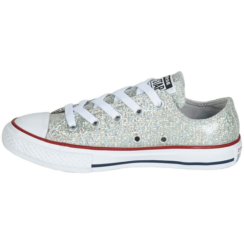 Converse CTAS Ox Glitter Textile Youth Trainers