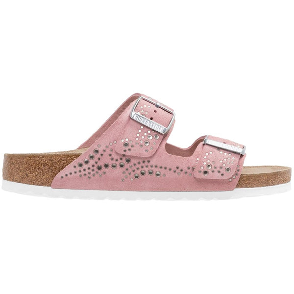 Birkenstock Arizona Injected Suede Unisex Sandals#color_rose