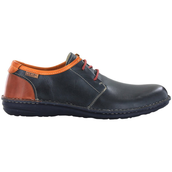 Pikolinos Santiago M8M-4298 Leather Mens Shoes#color_navy blue