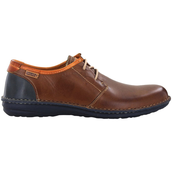 Pikolinos Santiago M8M-4298 Leather Mens Shoes#color_cuero