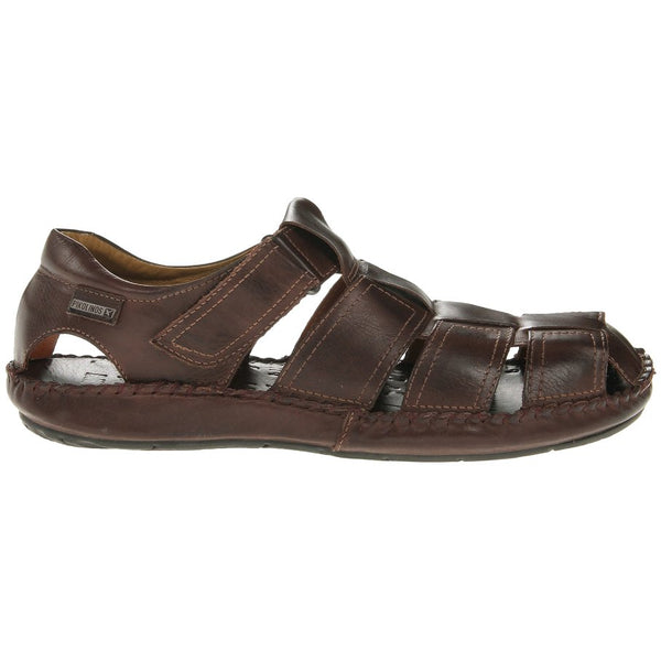 Pikolinos Tarifa 06J-5433 Leather Mens Sandals#color_olmo
