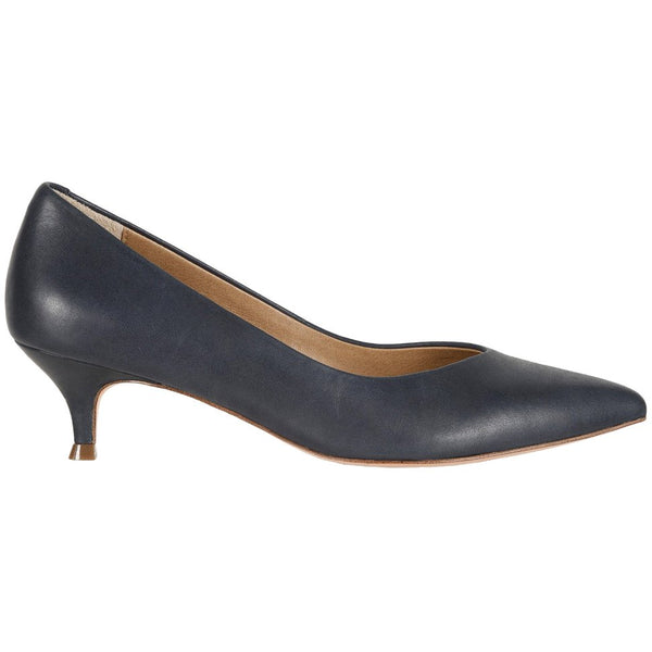 Vionic Kit Josie Leather Womens Shoes#color_navy