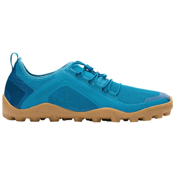 Vivobarefoot Primus Trail Soft Ground Mesh Mens Trainers#color_petrol blue