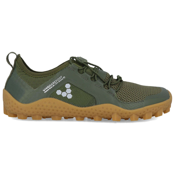 Vivobarefoot Primus Trail Soft Ground Mesh Mens Trainers#color_capulet olive