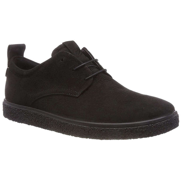 ECCO Crepetray M Nubuck Mens Trainers#color_black