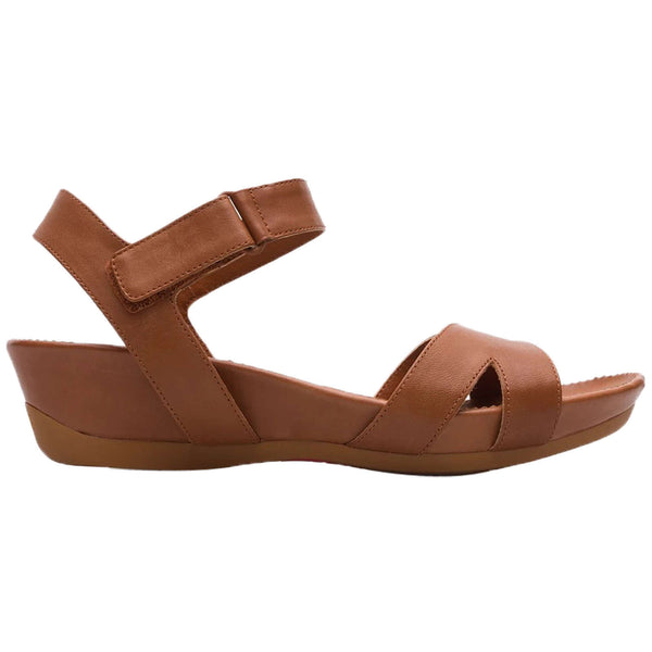 Camper Micro K200116 Leather Womens Sandals#color_brown