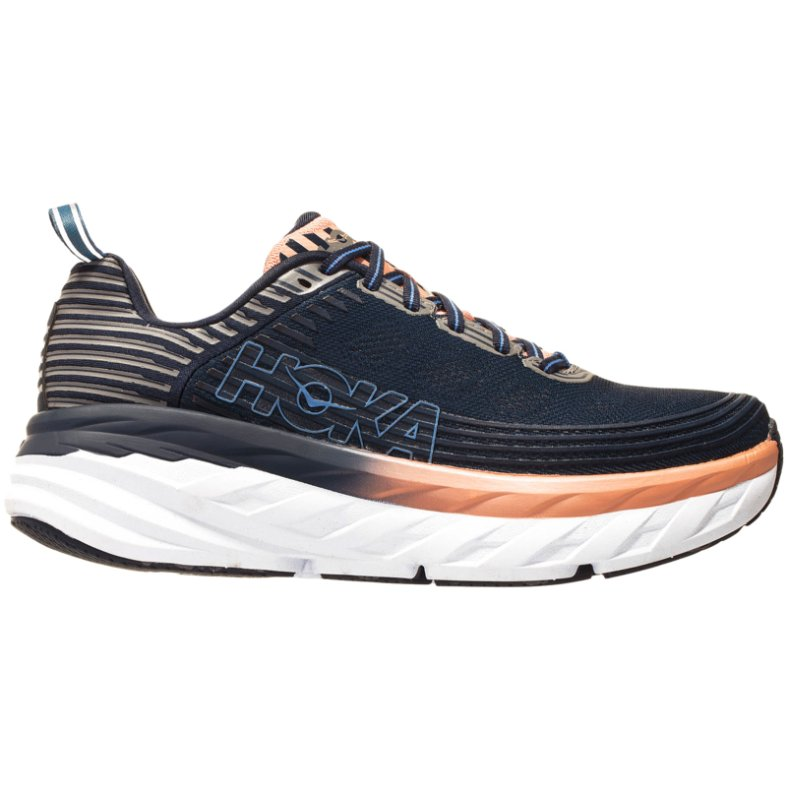 Hoka One One Bondi 6 Textile Womens Trainers