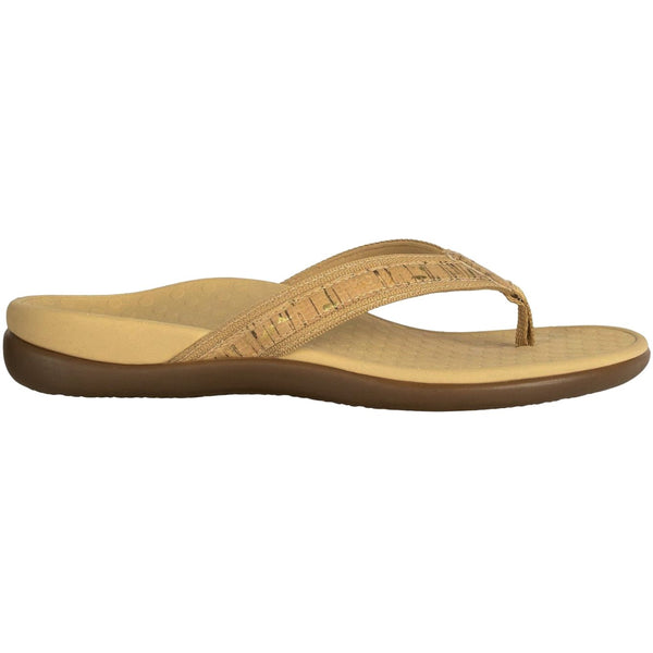 Vionic Islander Synthetic Womens Sandals#color_gold cork