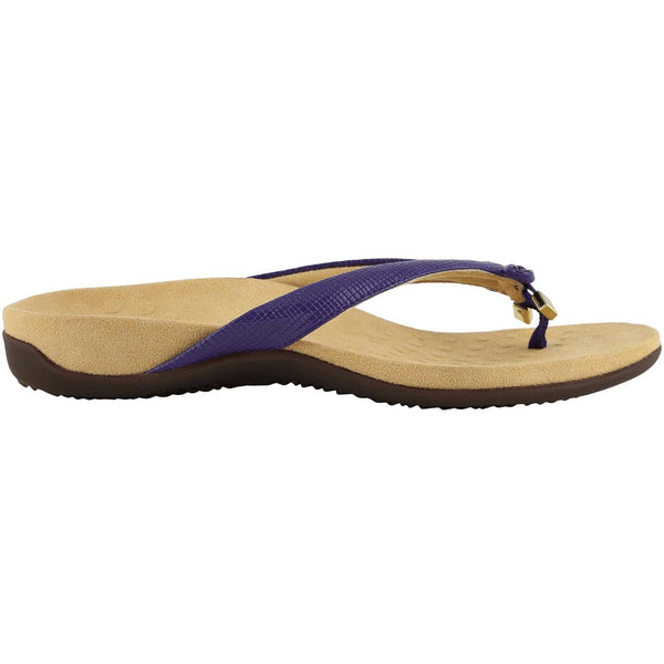 Vionic Rest Bella II Lizard Synthetic Womens Sandals#color_purple