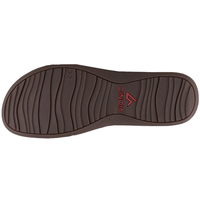 Vionic Rest Farra Lizard Synthetic Womens Sandals