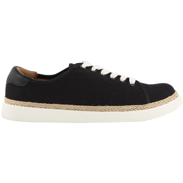 Vionic Sunny Hattie Canvas Womens Trainers#color_black