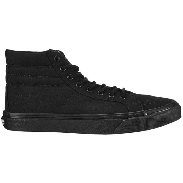 Vans SK8-Hi Slim Canvas Unisex Trainers#color_black