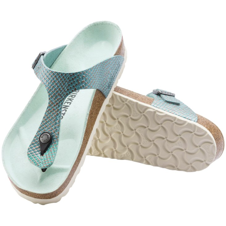 Birkenstock Gizeh Mermaid Leather Womens Sandals