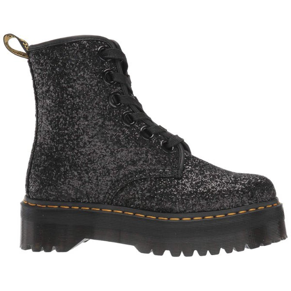 Dr.Martens Molly Chunky Glitter Womens Boots#color_black