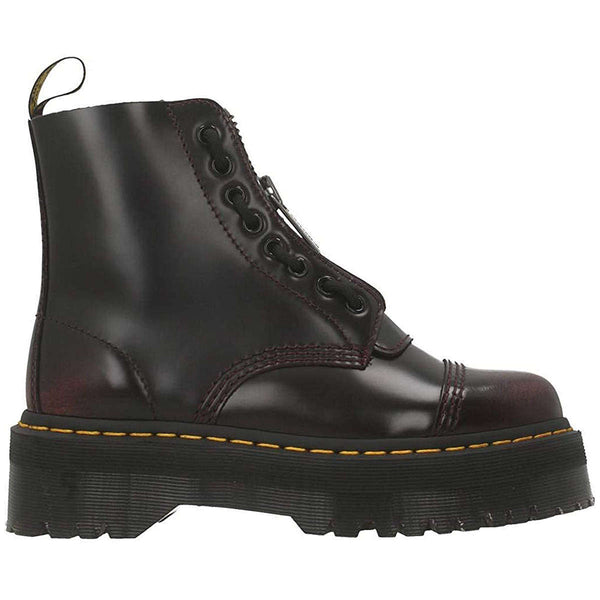 Dr.Martens Sinclair Arcadia Leather Womens Boots#color_cherry red