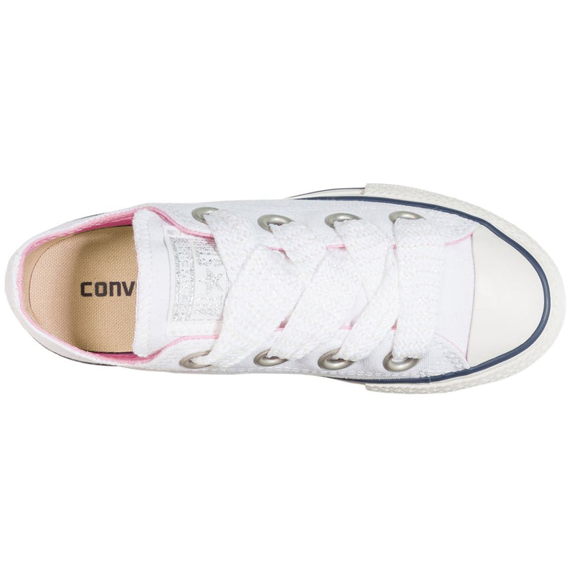 Converse CTAS Big Eyelet OX Textile Youth Trainers