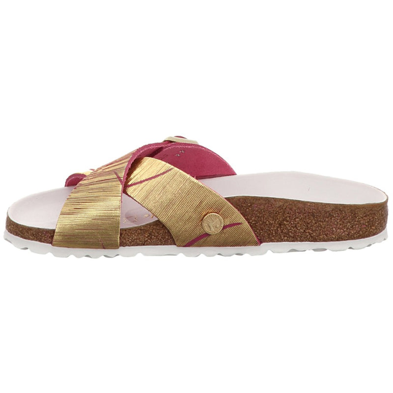 Birkenstock Siena Metallic Cuts Nubuck Womens Sandals