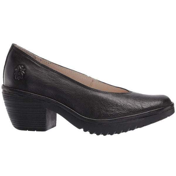 Fly London WALO988FLY Mousse Leather Womens Shoes#color_black