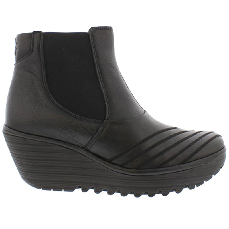 Fly London YAVE064FLY Mousse Leather Womens Boots