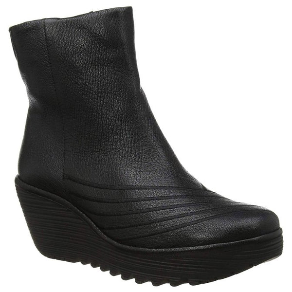 Fly London YENI062FLY Mousse Leather Womens Boots#color_black