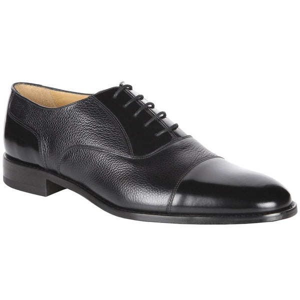 Loake Bibury Leather Mens Shoes#color_black