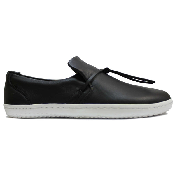 Vivobarefoot Ra Slip On Leather Womens Trainers#color_obsidian