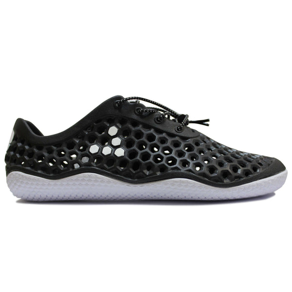 Vivobarefoot Ultra III Bloom Synthetic Womens Trainers#color_black white