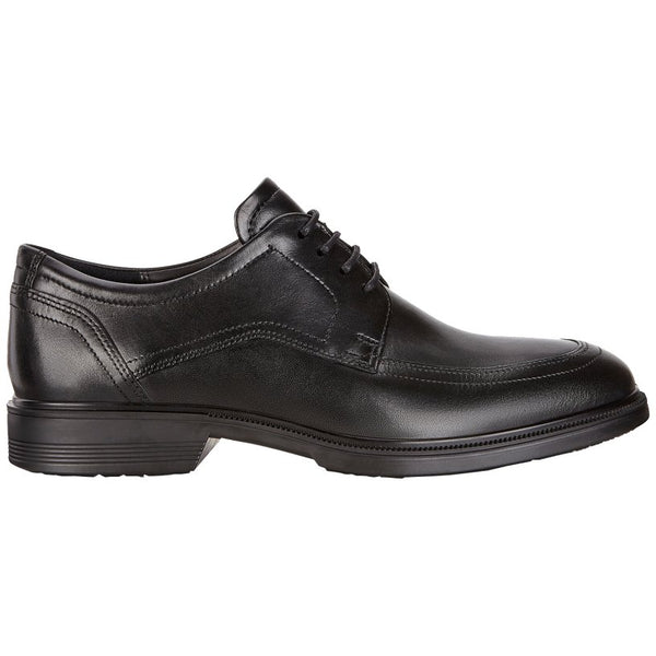 Ecco Lisbon 622134 Leather Mens Shoes#color_black