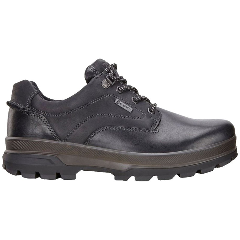 Ecco Rugged Track Leather Nubuck Mens Shoes