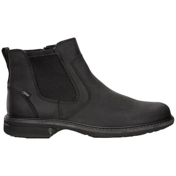 Ecco Turn 510214 Nubuck Mens Boots#color_black