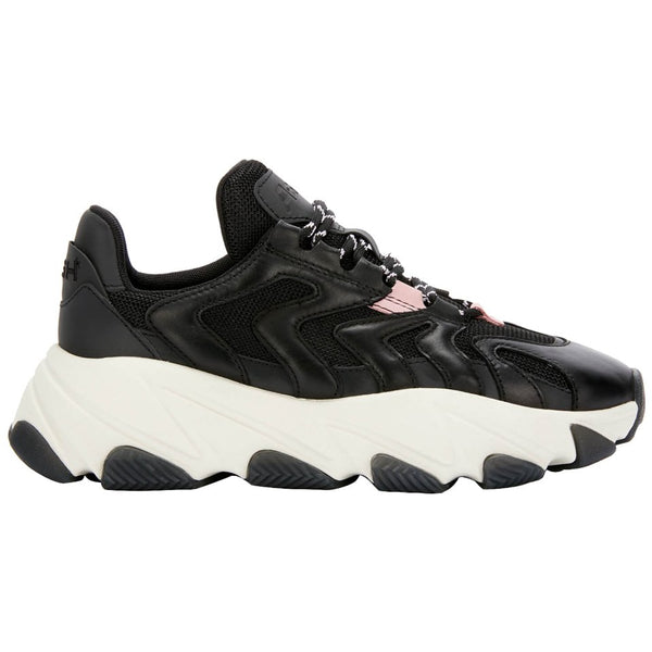 Ash Extreme Leather Textile Womens Trainers#color_black orchid