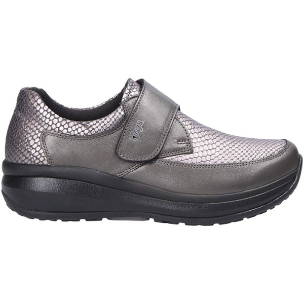 Joya Relax Leather Womens Shoes#color_grey