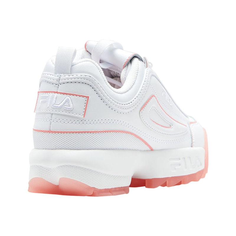Fila Disruptor II Ice Leather Synthetic Womens Trainers