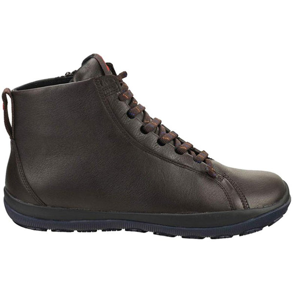 Camper Peu Pista GM K300287 Leather Mens Boots#color_dark brown