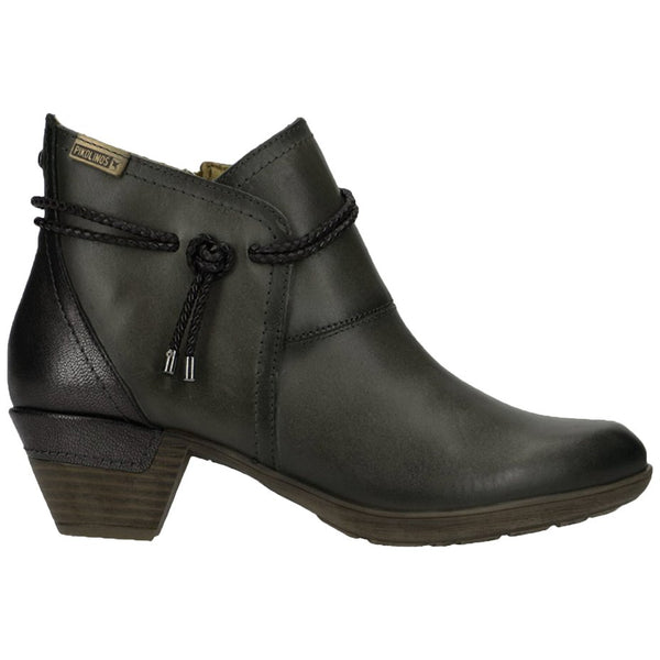 Pikolinos Rotterdam 902-8775 Leather Womens Boots#color_lead