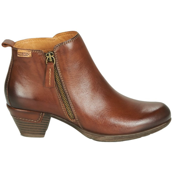 Pikolinos Rotterdam 902-8900 Leather Womens Boots#color_cuero