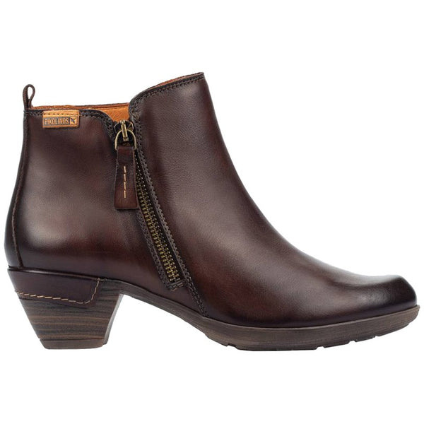 Pikolinos Rotterdam 902-8900 Leather Womens Boots#color_olmo