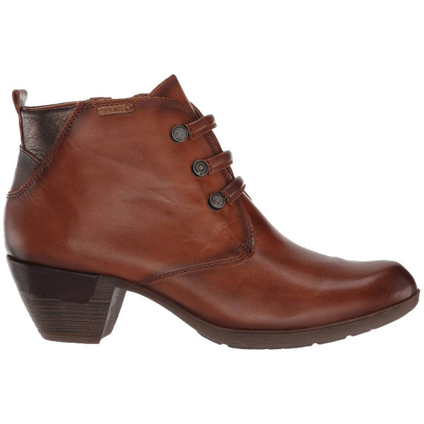 Pikolinos Rotterdam 902-8746 Leather Womens Boots#color_cuero
