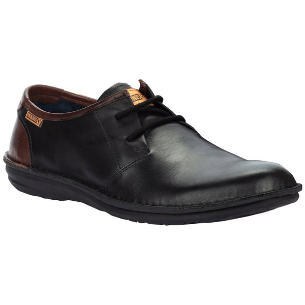 Pikolinos Santiago M8M-4298C1 Leather Mens Shoes#color_black