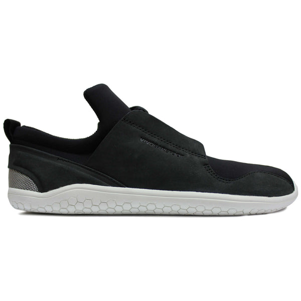 Vivobarefoot Kanna Ghillie Leather Womens Trainers#color_black