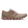 On Running Cloud X Textile Synthetic Womens Trainers#color_sand rose