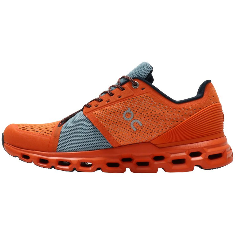 On Running Cloudstratus Textile Synthetic Mens Trainers