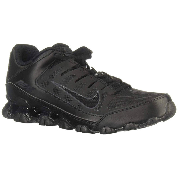 Nike Reax 8 TR Textile Synthetic Mens Trainers#color_black anthracite