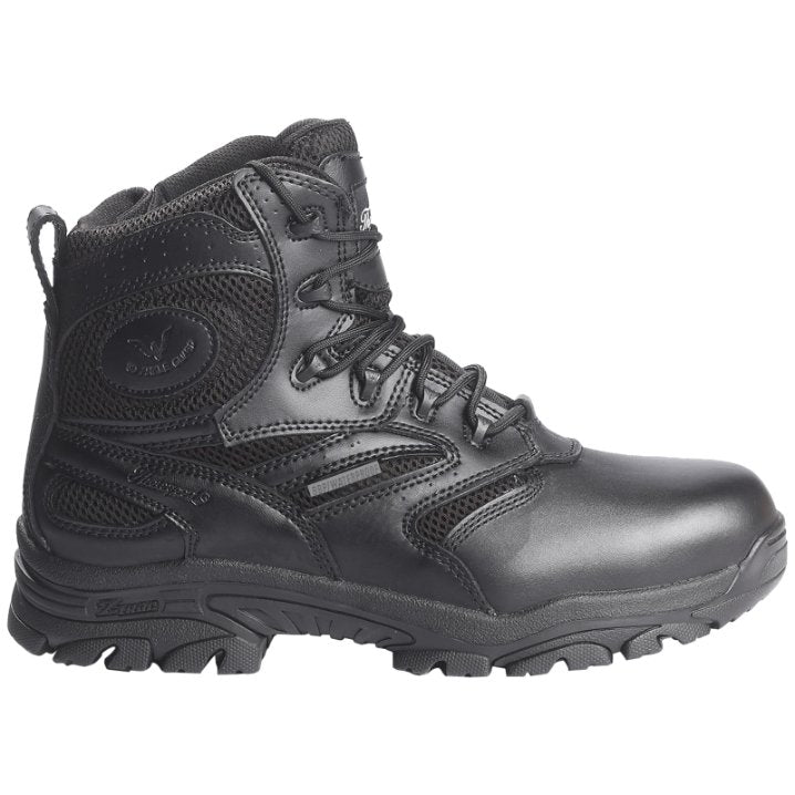 Thorogood Deuce Z-Trac 6 Inch Waterproof Side Zip Leather Mens Boots