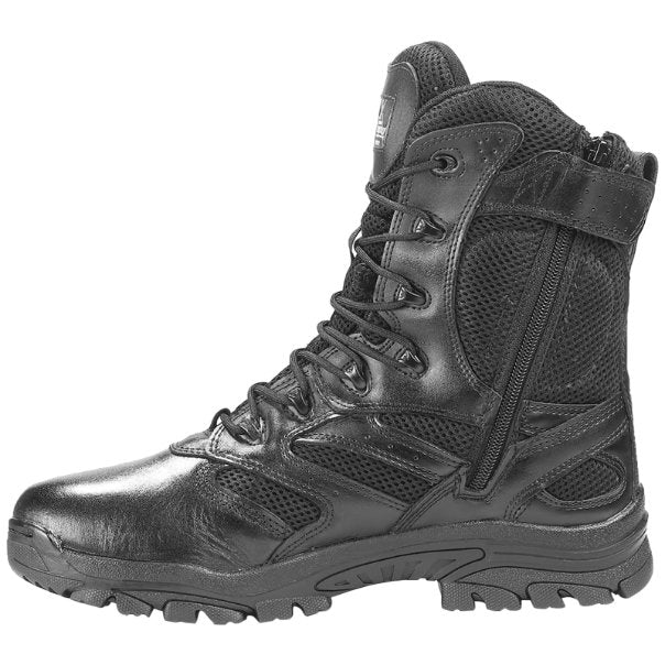 Thorogood Deuce Z-Trac 8 Inch Waterproof Side Zip Leather Mens Boots