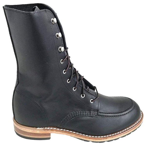 Red Wing Garcie Leather Womens Boots#color_black boundary